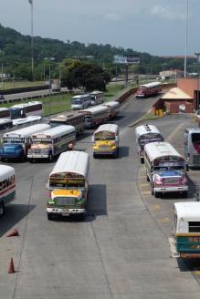 Gare routière à Panamá City