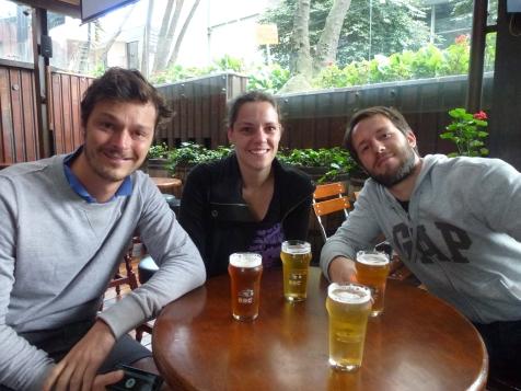Clement, Lucie et Juan au BBC
