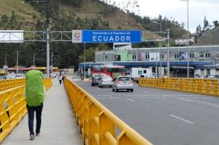 Arrivée en Équateur