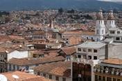 Vue sur Cuenca depuis la terrasse de la Cathédrale
