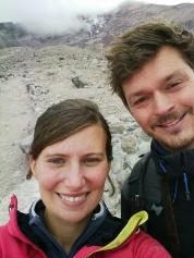 Refuge Whymper, 5000 m