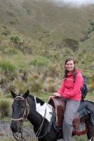 AC à cheval dans la montagne noire