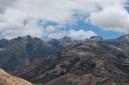 Massif du Yana urcu depuis Cahuaysqui