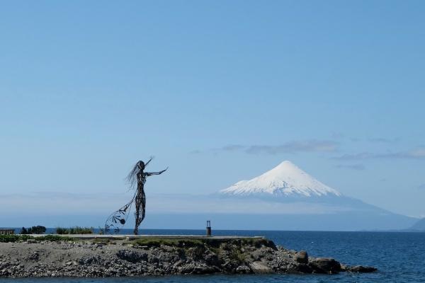Lac Llanquihue, Volcan Osorno, Puerto Varas
