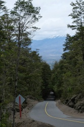 Route, vers la laguna verde