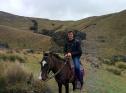 Clément à cheval