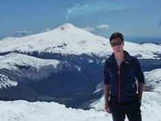 Au sommet du Quetrupillan
