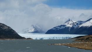 Perito Moreno vu de loin
