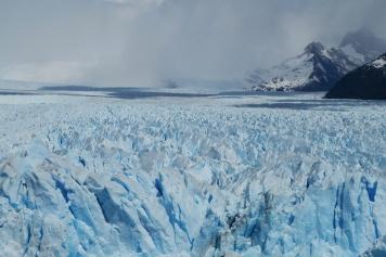 La surface du Perito Moreno