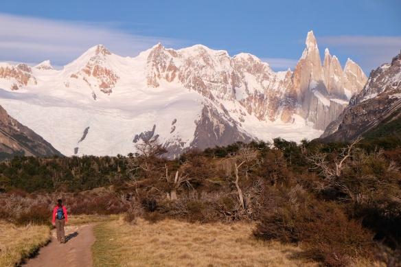 Randonnee vers le Cerro Torre