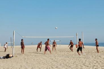 Volley, plage Copacabana