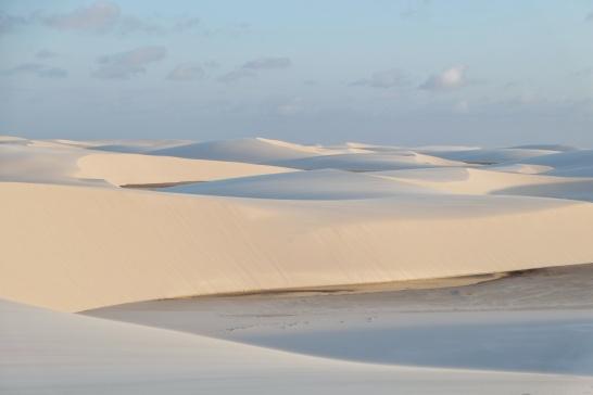 Dune et lagune, parc Lencois Maranhenses