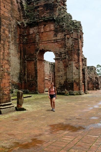 Anne-Charlotte découvre les missions Jésuites