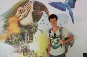 Clément au parc aves