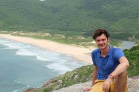 Clément, vue sur Lagoinha do Leste