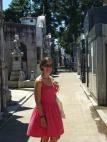 Dans le cimetière de la Recoleta