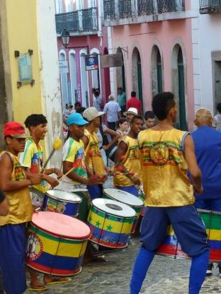 Percussionnistes de rue