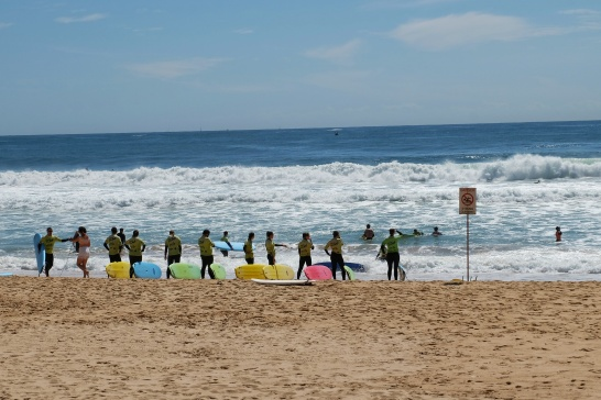 Surfeurs, Manly