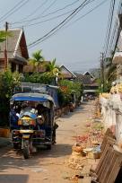 Le marché de jour après la ruee