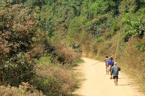 Chemin vers Ban Ha