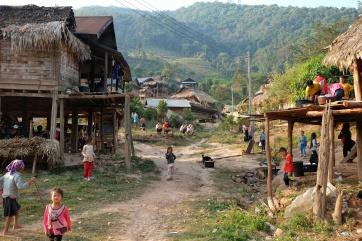 Le village Akha