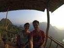 Coucher de soleil, Nong khiaw