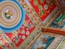 Intérieur d'un temple, Vientiane