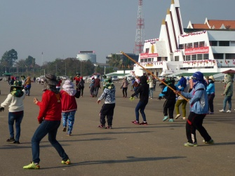 Répétition de danse, Vientiane