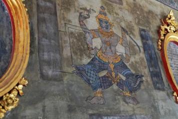 Fresque, Wat Pho