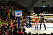 Match de box thaï, Bangkok