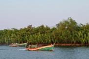 Bateaux de pêcheur, Kampot