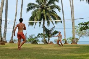 Badminton quotidien chez Dusiat Resort