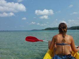 Toujours en kayak