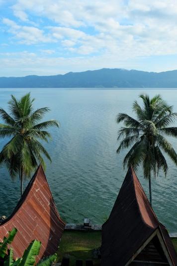 Notre guesthouse au lac Toba