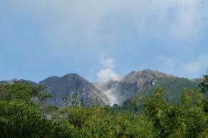 Le Sibayak fumant