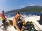 En route vers la plongée, Pulau Weh