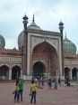 Old Delhi - mosquée